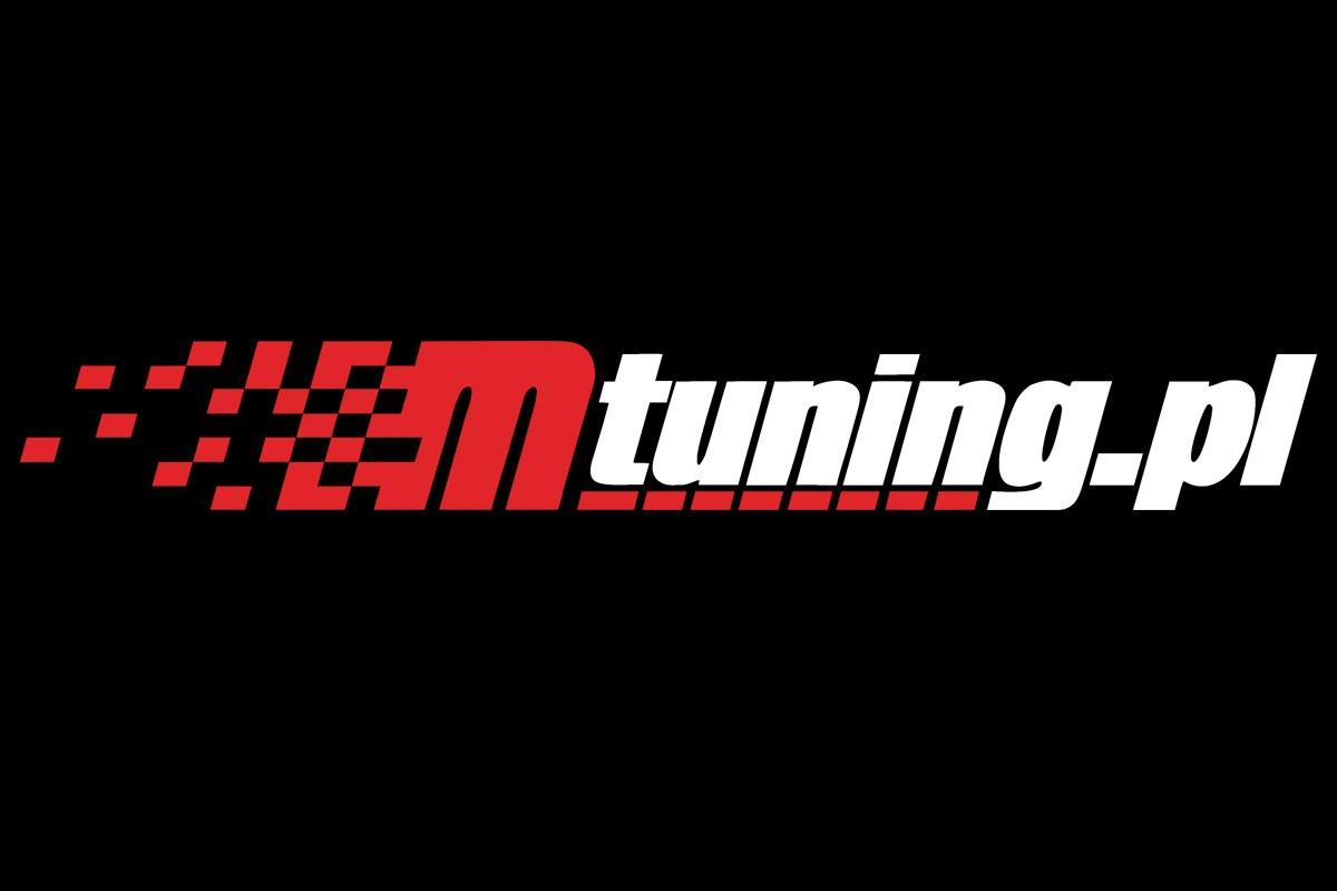 Naklejka MTuning Czerwono-Biała - GRUBYGARAGE - Sklep Tuningowy